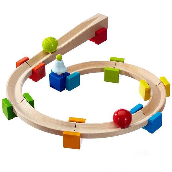 haba儿童益智积木玩具滚珠轨道   - 宝宝生日礼物 - 安全无毒